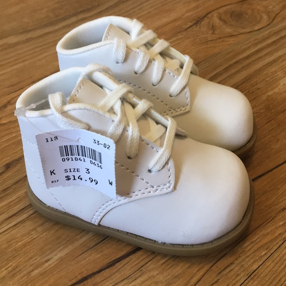 Adorable White Chubbies Baby Shoes